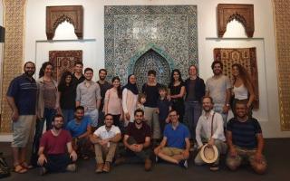 תמונות מן המפגש החוגי לכבוד סיום שנת הלימודים - 21.6, המוזיאון לאומנות האסלאם